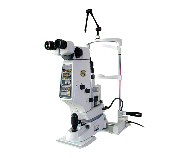 Laser Yag oftalmológico.
