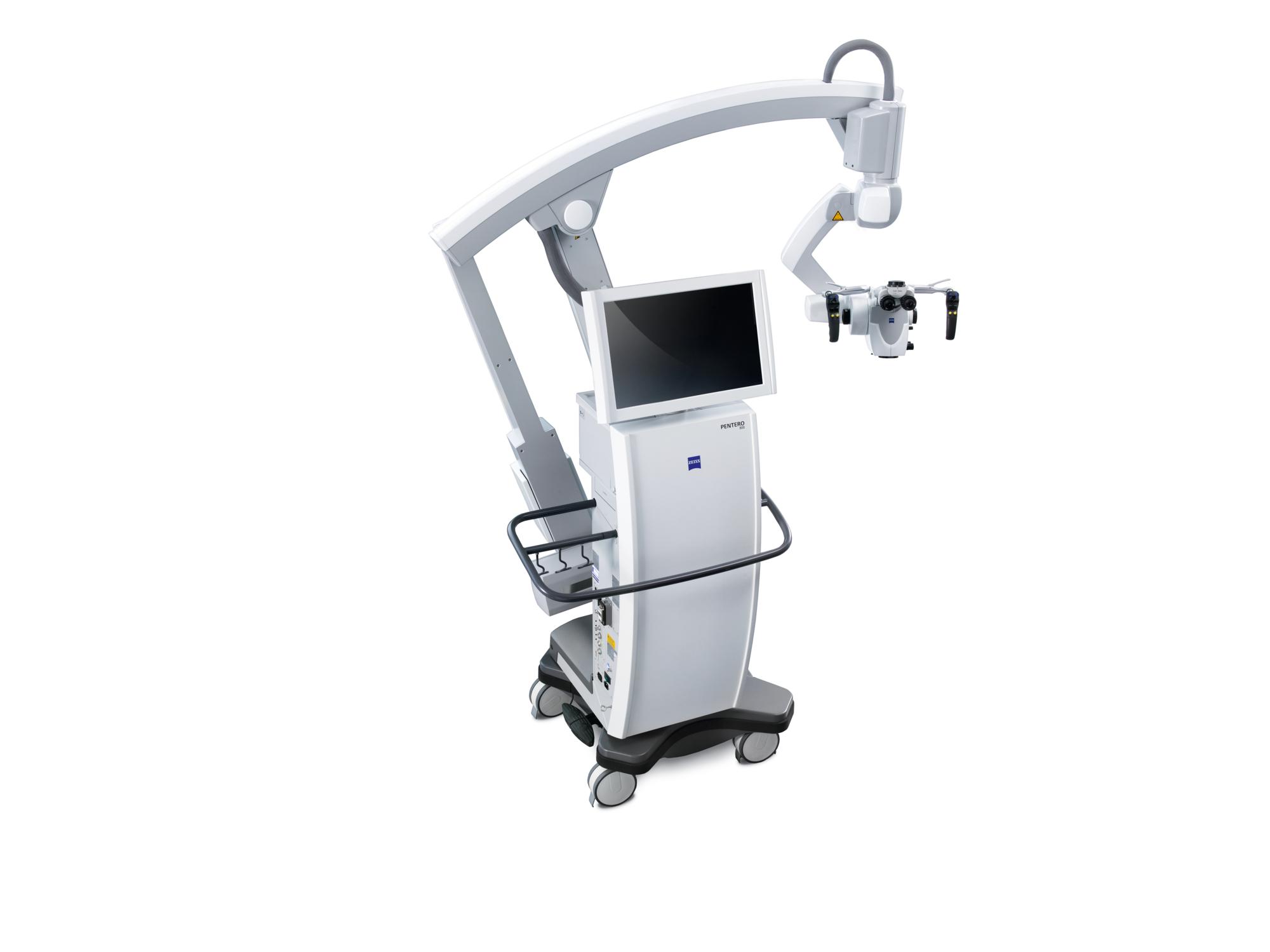 Microscopio quirúrgico  para  neurocirugía.
