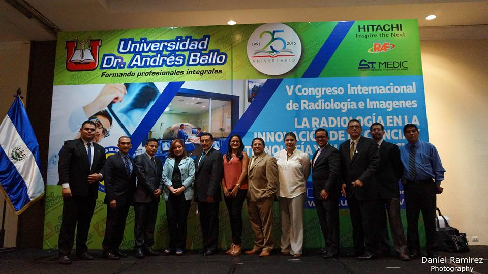 Octubre 2016- V Congreso internacional de radiología e imágenes  -Universidad Dr.Andrés Bello – HITACHI