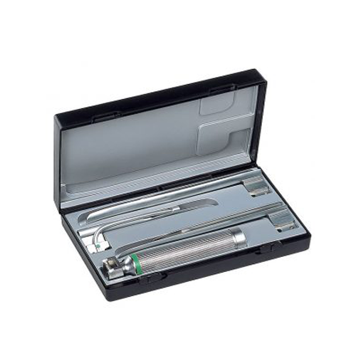 Conjuntos de laringoscopios de fibra óptica (F.O).