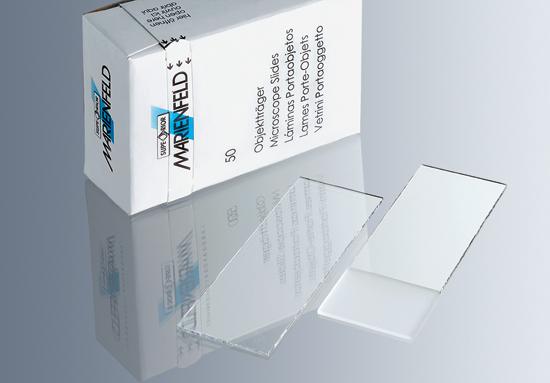 Láminas portaobjetos de 1 mm de espesor