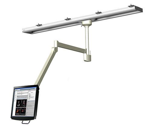 Sistemas de suspensión de monitores