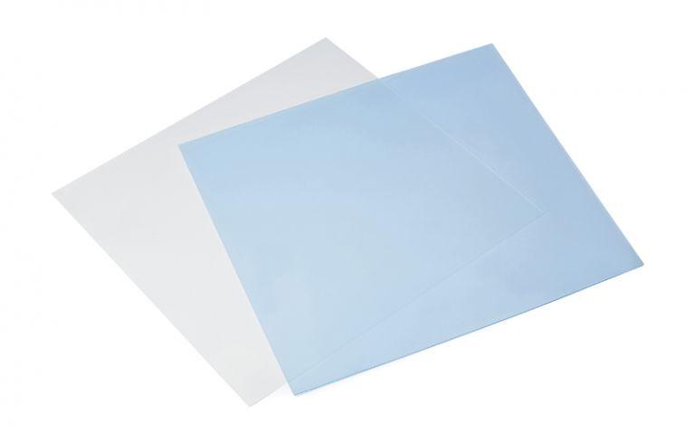 Láminas de silicona para la rinología.