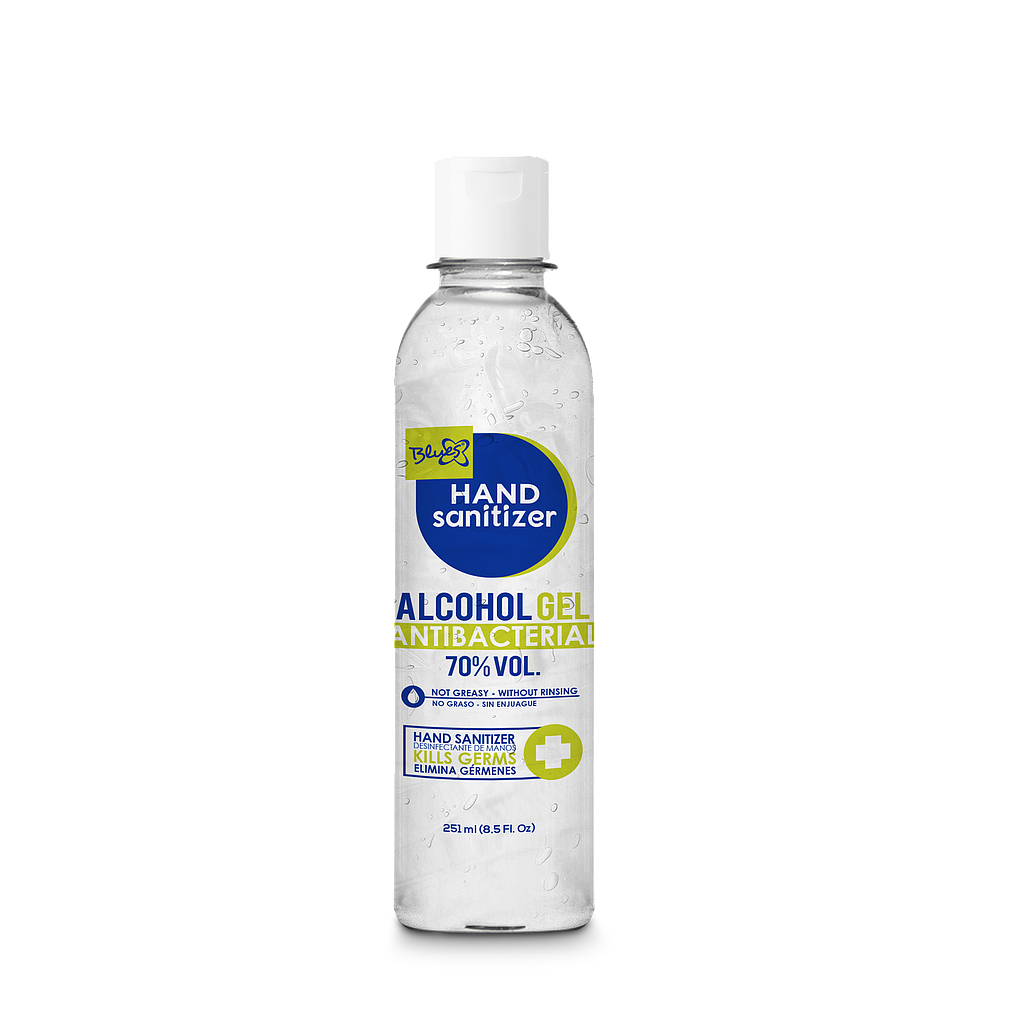 Alcohol gel antibacterial