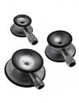 Campanas, olivas y auriculares para estetoscopios.