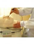 Simulador de hemorragia nasal avanzada.