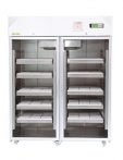 Refrigerador de banco de sangre.
