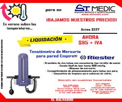 TENSIOMETRO DE MERCURIO